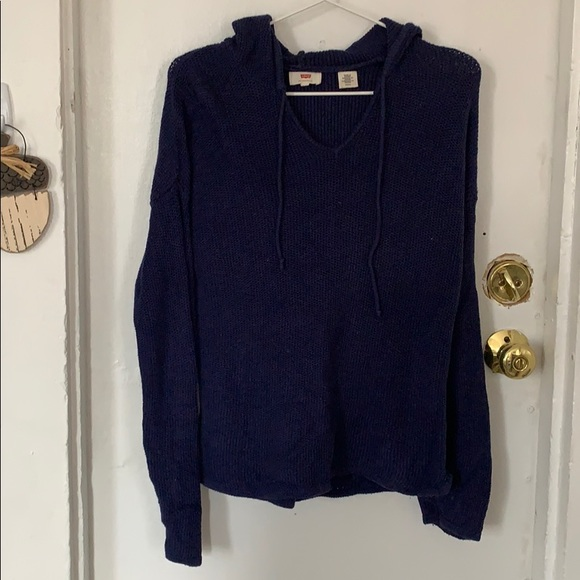 Levi's Tops - Levi's hooded knit sweater